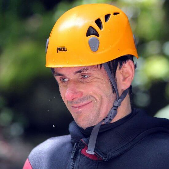 Nicolas Terrier - guide canyon, spéléo, raft